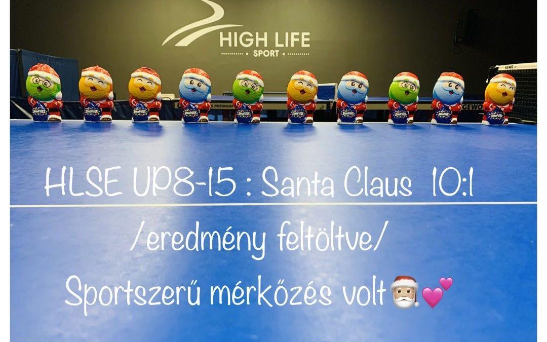 HLSE UP válogatott – Santa Claus 10:1